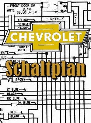 Schaltplan Chevrolet Nova 1971 - Automobile Riekmann Onlineshop