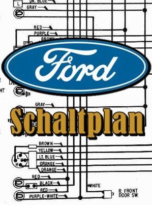 Schaltplan Ford Galaxie Sechs- und Achtzylinder 1964 - Automobile ...