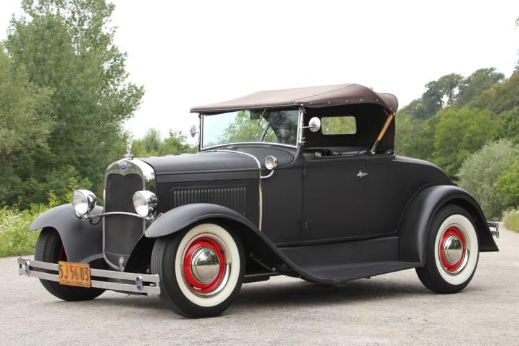 galerie ford model a roadster hot rod 1931. Black Bedroom Furniture Sets. Home Design Ideas